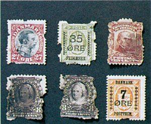 Silberfischchen in Briefmarkensammlung
