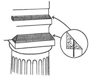 Konstruktionsänderung von Bau um Tauben zu verhindern